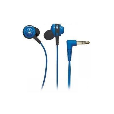 Наушники Audio-Technica ATH-COR150 синий (15117617) technica audio technica ath ar3bt портативная гарнитура bluetooth для беспроводной гарнитуры синий