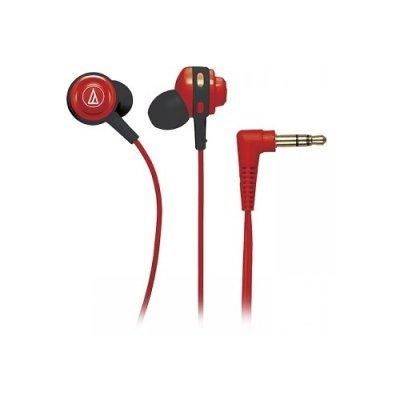 цена на Наушники Audio-Technica ATH-COR150 красный (15117621)
