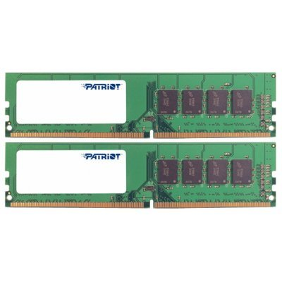 Модуль оперативной памяти ПК Patriot PSD416G2133K (PSD416G2133K)Модули оперативной памяти ПК Patriot<br>Модуль памяти 16GB PC17000 DDR4 KIT2 PSD416G2133K PATRIOT<br>