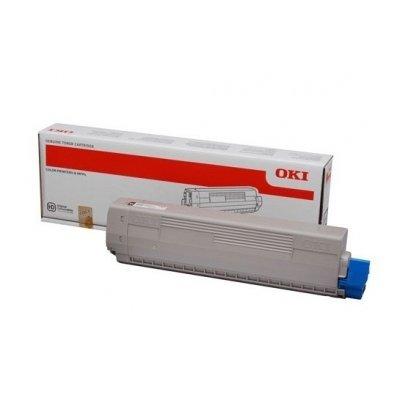 Тонер-картридж для лазерных аппаратов Oki C833/843 10K (cyan) (46443115) тонер картридж для лазерных аппаратов oki c3300 3400 3450 3600 2 5k cyan 43459347 43459331
