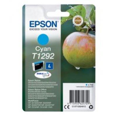 Картридж для струйных аппаратов Epson C13T12924012 голубой для St SX420/425/525WD/B42WD/BX320FW/BX625WFD (C13T12924012) принтер струйный epson l312