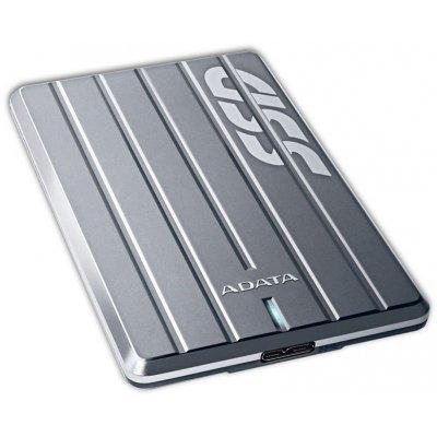 Внешний жесткий диск A-Data ASC660H-256GU3-CTI 256GB (ASC660H-256GU3-CTI)Внешние жесткие диски A-Data<br>ADATA 256GB SC660H USB3.0 External Mobile Premier SSD Titanium<br>
