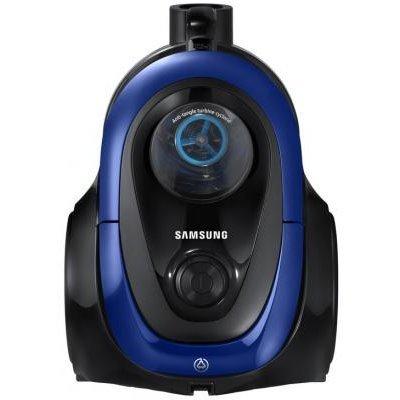 Пылесос Samsung SC18M21A0SB синий (VC18M21A0SB/EV)Пылесосы Samsung<br>Производитель: Samsung<br>Тип: обычный<br>Тип уборки: сухая<br>Тип пылесборника: без мешка (циклонный фильтр)<br>Фильтр тонкой очистки: да<br>Мощность всасывания: 380 Вт<br>Потребляемая мощность: 1800 Вт<br>