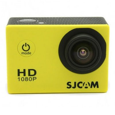 Экшн камера SJCAM SJ4000 желтый (SJ4000YELLOW) pivothead durango ph213 bronze экшн камера