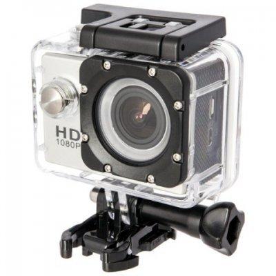 Экшн камера SJCAM SJ4000 серебристый (SJ4000SILVER) экшн камера sjcam sj4000 black