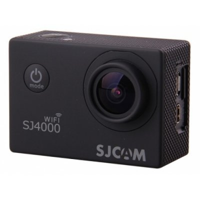 Экшн камера SJCAM SJ4000 Wi-Fi черный (SJ4000WIFIBLACK) sjcam sj5000 plus black экшн камера
