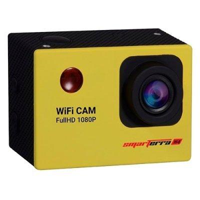 Экшн камера Smarterra W4 желтый (SPW40616)Экшн камеры Smarterra<br>экшн-камера<br>запись видео Full HD 1080p на карты памяти<br>матрица 12 МП (1/3.2)<br>карты памяти microSD, microSDHC<br>Wi-Fi<br>до 1.5 ч работы от аккумулятора<br>вес: 55 г<br>