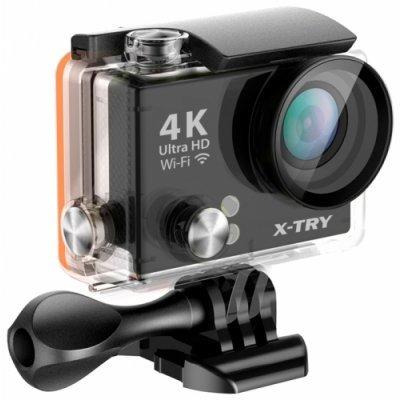 Экшн камера X-TRY XTC150 черный (XTC150) карты памяти
