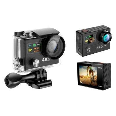 Экшн камера X-TRY XTC220 черный (XTC220)Экшн камеры X-TRY<br>экшн-камера<br>запись видео UHD 4K на карты памяти<br>матрица 12 МП<br>карты памяти microSD, microSDHC<br>Wi-Fi<br>до 1.5 ч работы от аккумулятора<br>вес: 69 г<br>