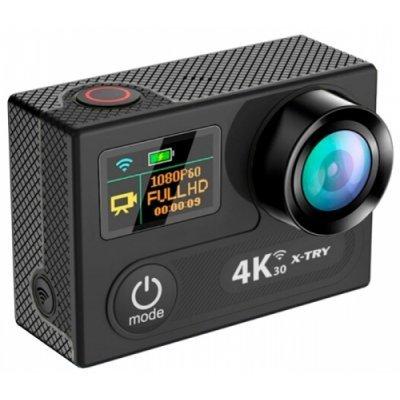 Экшн камера X-TRY XTC250 Pro черный (XTC250) экшн камера ridian bullet hd pro 4
