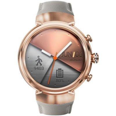 Умные часы ASUS ZenWatch 3 WI503Q розовое золото (90NZ0065-M00670)