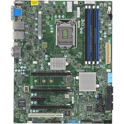 Материнская плата сервера SuperMicro MBD-X11SAT-F-O (mbd-X11SAT-F-O) материнская плата сервера supermicro mbd x10slm f o mbd x10slm f o