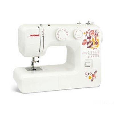 Швейная машина Janome Sew dream 510 белый (510)