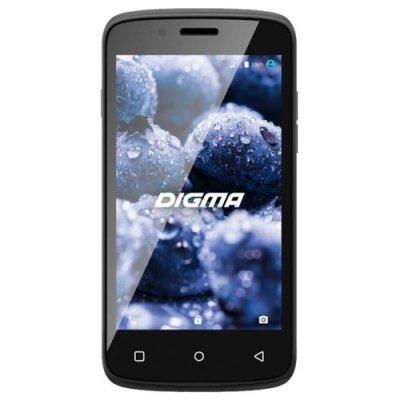 Смартфон Digma VOX A10 3G черный (VS4002PG black) смартфон digma voxg450 black