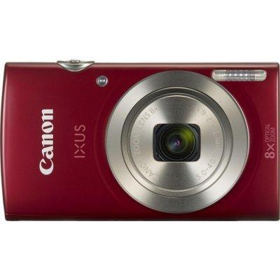 Цифровая фотокамера Canon IXUS 185 красный (1809C001)Цифровые фотокамеры Canon<br>Фотоаппарат Canon IXUS 185 Red<br>