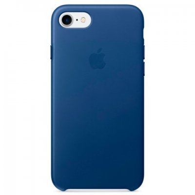Чехол для смартфона Apple iPhone 7 сапфир (MPT92ZM/A) аксессуар чехол apple iphone se leather case red mr622zm a