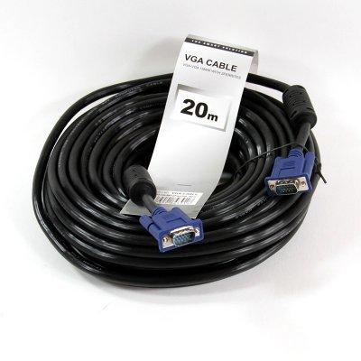 Кабель VGA TV-COM QCG341AD-20M (QCG341AD-20M) кабель vga tv com qcg342ad 15m qcg342ad 15m