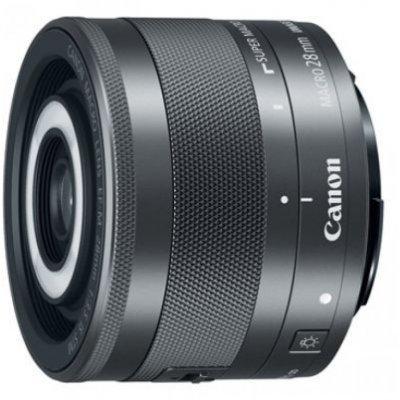 Объектив для фотоаппарата Canon EF-M STM (1362C005) 28мм f/3.5 Macro черный (1362C005) объектив для фотоаппарата