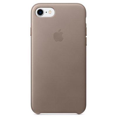 Чехол для смартфона Apple iPhone 7 платиново-серый (MPT62ZM/A)Чехлы для смартфонов Apple<br>iPhone 7 Leather Case - Taupe<br>