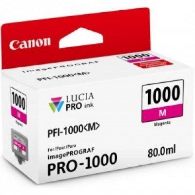картридж для принтера canon ink tank pfi 102m magenta Картридж для струйных аппаратов Canon PFI-1100 M Magenta 160ml (0852C001)