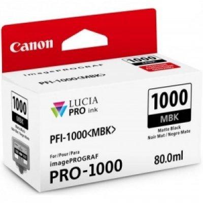 Картридж для струйных аппаратов Canon PFI-1100 MBK Matte Black 160ml (0849C001) canon pfi 206 mbk matte black