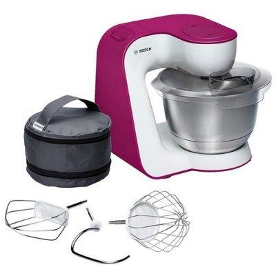 Кухонный комбайн Bosch MUM 54P00 белый/розовый (MUM54P00) кухонный комбайн bosch profimixx mum4406 белый