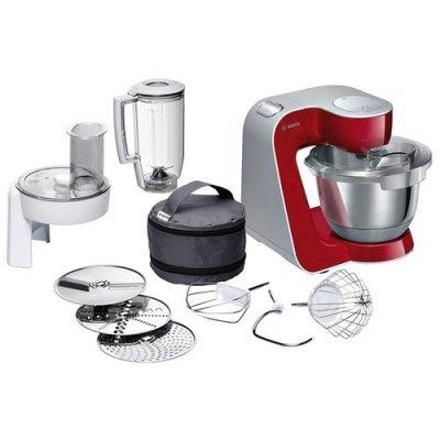 Кухонный комбайн Bosch MUM 58720 красный/серебристый (MUM58720) bosch bosch mcm64085 комбайн