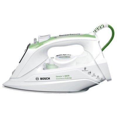 Утюг Bosch TDA 702421 зеленый/белый (TDA702421E) bosch bosch 10 zhi отвертка головы set easy успеха зеленый [6949509201188]