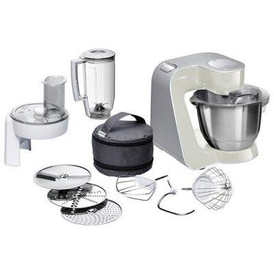 Кухонный комбайн Bosch MUM 58L20 серый/серебристый (MUM58L20) хранение продуктов