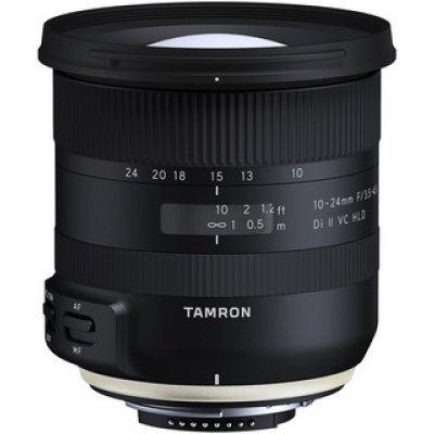 Объектив для фотоаппарата Tamron 10-24mm F/3.5-4.5 Dii VC HLD for Nikon (в комплекте с блендой) (B023N)Объективы для фотоаппарата Tamron <br>Объектив 10-24mm F/3.5-4.5 Dii VC HLD for Nikon (в комплекте с блендой)<br>