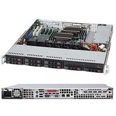 Корпус серверный SuperMicro CSE-113MTQ-330CB (CSE-113MTQ-330CB) корпус серверный