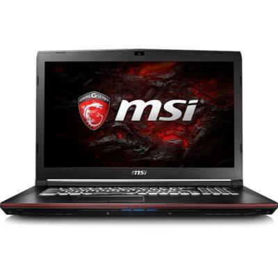 Ноутбук MSI GP72 7RDX (9S7-1799B3-489) (9S7-1799B3-489)Ноутбуки MSI<br>MSI GP72 7RDX Kabylake i5-7300HQ+HM175/16GB DDRIV/1TB/Super Multi/17.3 FHD, eDP/GTX 1050, 2GB GDDR5/WiFi+BT/Dos/Black<br>