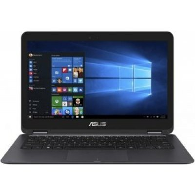 Ультрабук-трансформер ASUS Zenbook Flip UX360CA (90NB0BA2-M03960) (90NB0BA2-M03960)Ультрабуки-трансформеры ASUS<br>ASUS Zenbook Flip UX360CA M7-6Y75 8Gb SSD 512Gb Intel HD Graphics 515 13,3 QHD+ IPS TS(MLT)  BT Cam 3830мАч Win10 Серый UX360CA-DQ070T 90NB0BA2-M03960<br>