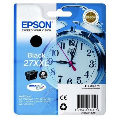 Картридж для струйных аппаратов Epson C13T27914022 черный для Epson WF7110/7610/7620 (2200стр.) (C13T27914022) procolor continuous ink supply system ciss europe area 27 t2701 for epson wf 7110 wf7110 wf 7110 7110dtw wf 7110dtw wf7110dtw