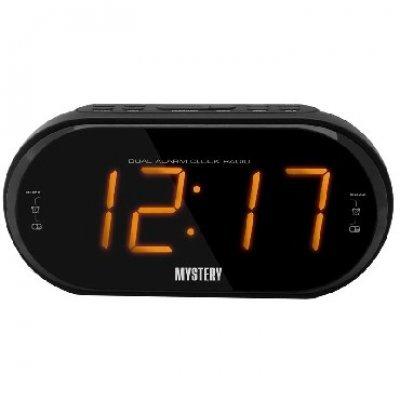 Радиобудильник Mystery MCR-69 черный с оранжевой подсветкой (MCR-69 BLACK&AMBER)