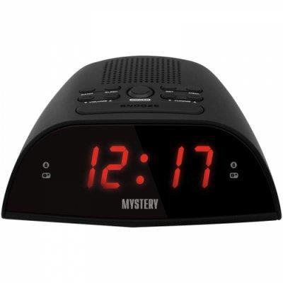 Радиобудильник Mystery MCR-48 черный с красной подсветкой (MCR-48 BLACK&RED)