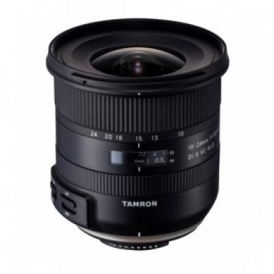 Объектив для фотоаппарата Tamron 10-24mm F/3.5-4.5 Dii VC HLD for Canon (в комплекте с блендой) (B023E)