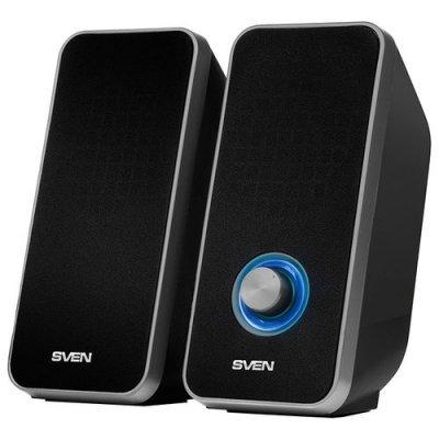 Компьютерная акустика SVEN 325 чёрный (SV-014643) цена 2017