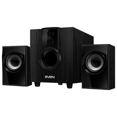 Компьютерная акустика SVEN MS-107 черный (SV-014810) компьютерная акустика sven ms 90 черный sv 012861