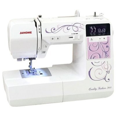 Швейная машина Janome Quality Fashion 7900 (JANOME QF 7900) janome clio 100