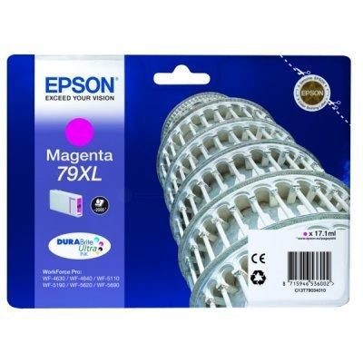 Картридж для струйных аппаратов Epson T7903 пурпурный повышенной емкости для WF-5110DW/WF-5620DWF (C13T79034010)