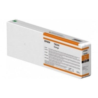 цена на Картридж для струйных аппаратов Epson T804A оранжевый повышенной емкости для SC-P7000/P9000 (C13T804A00)