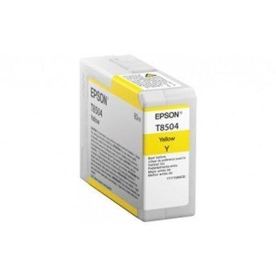 Картридж для струйных аппаратов Epson T8504 желтый для SC-P800 (C13T850400)