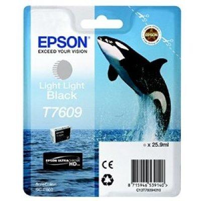 Картридж для струйных аппаратов Epson T7609 светло-серый для SC-P600 (C13T76094010) принтер epson surecolor sc p600