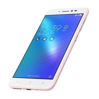 Смартфон ASUS ZenFone Live ZB501KL 32Gb розовый (90AK0073-M00150) аксессуар защитная пленка asus zenfone live zb553kl luxcase суперпрозрачная 55823