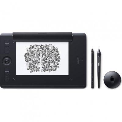 Графический планшет Wacom Intuos Pro Paper M PTH-660P-R (PTH-660P-R) графические планшеты wacom планшет для рисования wacom intuos pro s pth 451 rupl usb