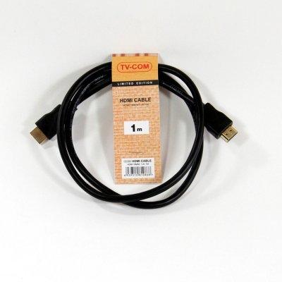 Кабель HDMI TV-COM CG150S-1M (CG150S-1M) кабель com для рации аргут