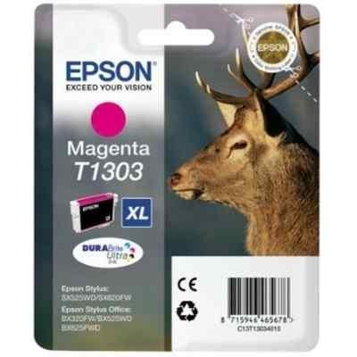 Картридж для струйных аппаратов Epson C13T13034012 пурпурный для Epson SX525WD/SX535WD/B42WD/BX320FW/BX625FWD/BX635FWD/WF-7015/7515/7525 (C13T13034012) принтер струйный epson l312