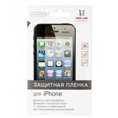 Пленка защитная для смартфонов Red line Apple iPhone 7 Plus матовая (УТ000009790) пленка защитная для смартфонов red line apple iphone 7 матовая защитное стекло ут000009788