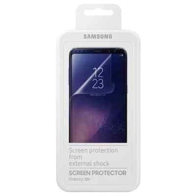 Пленка защитная для смартфонов Samsung Galaxy S8+прозрачная (ET-FG955CTEGRU) (ET-FG955CTEGRU) защитная пленка liberty project защитная пленка lp для samsung p5100 прозрачная